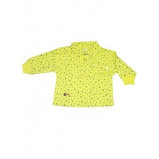 Yellow Floral Sweater Girls 6-12 months