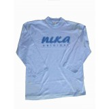 Blue NIKA Long sleeve T-shirt Adult XXL
