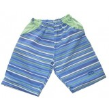 Blue Stripes Shorts Girls 1-2 years