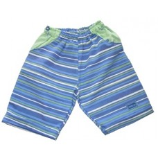 Blue Stripes Shorts Girls 5-6 years
