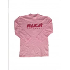 Pink NIKA Long sleeve T-shirt Adult XL