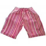 Pink Stripe Shorts Girls 5-6 years