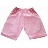 White Star Shorts Girls 5-6 years