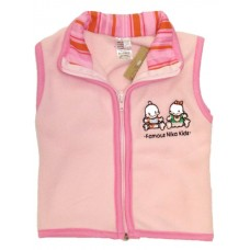 Pink Famous Kids Body warmer Girls 0-3 months