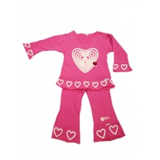 Pink Hearts Swing Suite Girls18-24 months