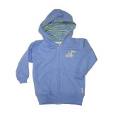Blue Bicycle Hoody Boys 7-8 years