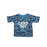 Blue Camo T-shirt Boys 9-10 years