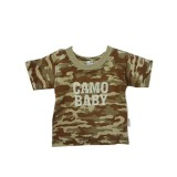 Stone Camo T-shirt Boys 3-4 years