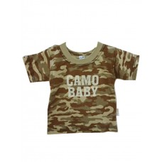 Stone Camo T-shirt Boys 5-6 years