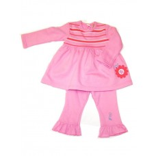 Pink Stripe Swing Suite Girls 6-12 months
