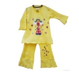 Yellow Princess Swing Suite Girls 5-6 years