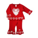 Red Hearts Swing Suite Girls 12-18 months