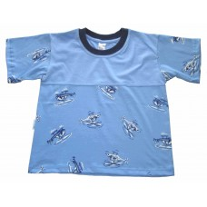 Helicopter split T-shirt Boys 3-4 years