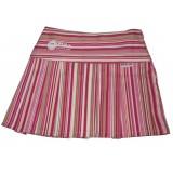 Pink Stripe Pleated Skirt Girls 3-4 years