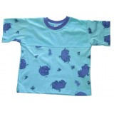 Rhino split T-shirt Boys 7-8 years