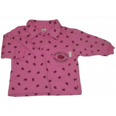 Pink Bugs Sweater Girls 6-12 months