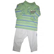 Green Pants set 3-6 months